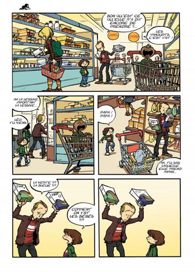 Page 2 trois aventures de Léo Cassebonbons