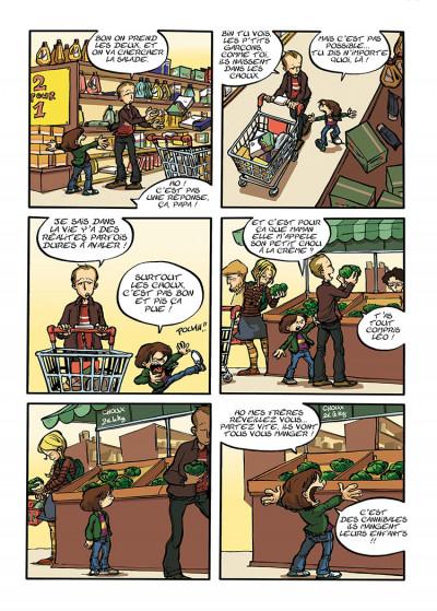 Page 3 trois aventures de Léo Cassebonbons