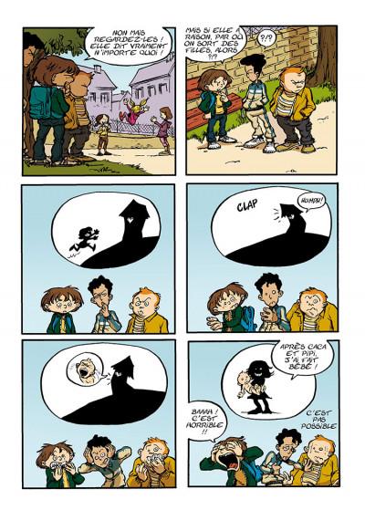 Page 5 trois aventures de Léo Cassebonbons