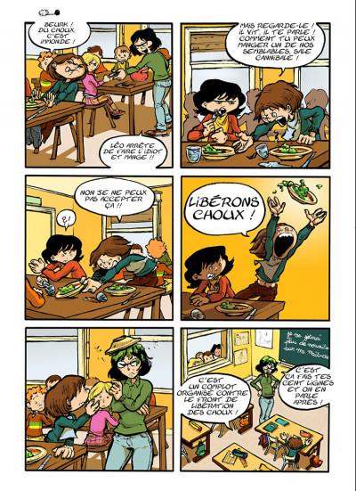 Page 6 trois aventures de Léo Cassebonbons