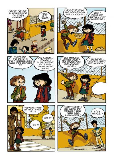 Page 7 trois aventures de Léo Cassebonbons