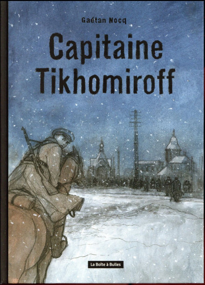 Couverture Capitaine Tikhomirof