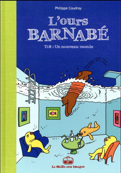 Couverture L'ours Barnabé tome 18