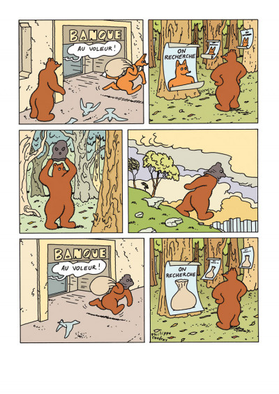 Page 4 L'ours Barnabé tome 18