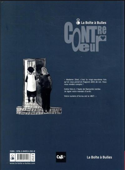 Dos La ballade des dangereuses - Journal d'une incarcération
