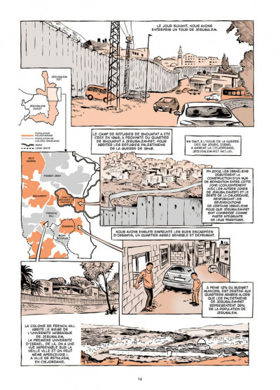 Page 4 Vivre en terre occupée - Un voyage en Palestine, de Naplouse à Gaza