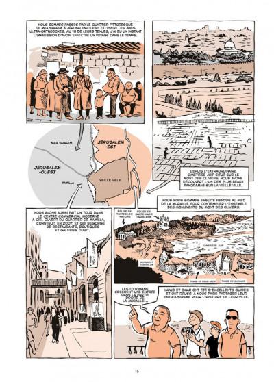 Page 5 Vivre en terre occupée - Un voyage en Palestine, de Naplouse à Gaza
