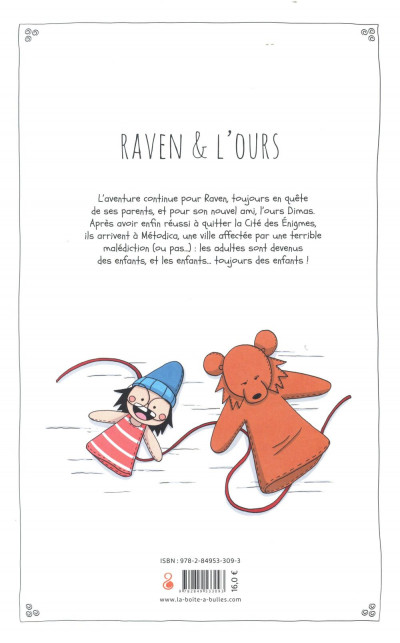 Dos Raven & l'ours tome 2