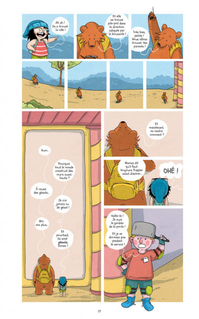 Page 4 Raven & l'ours tome 2