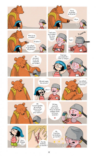 Page 5 Raven & l'ours tome 2