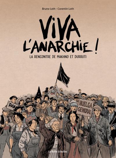 Couverture Viva l'anarchie !