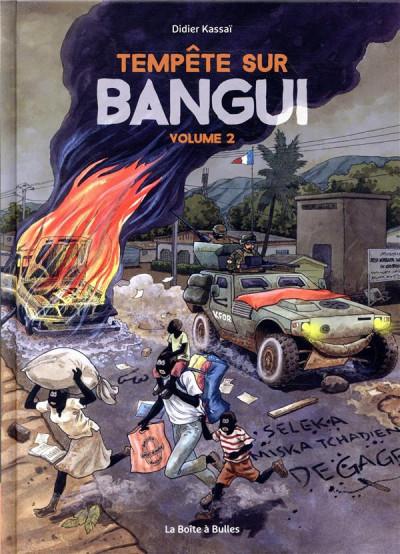 Couverture Tempête sur Bangui tome 2