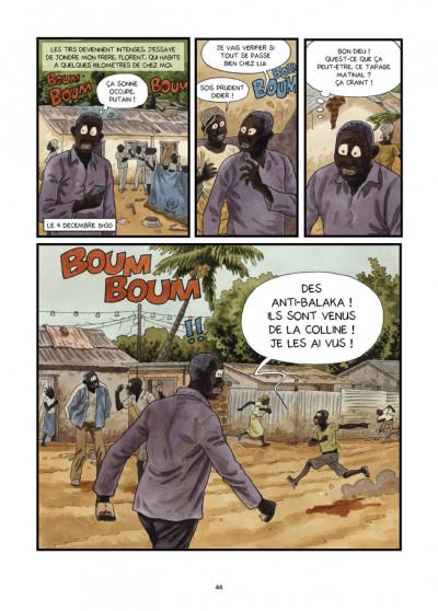 Page 1 Tempête sur Bangui tome 2