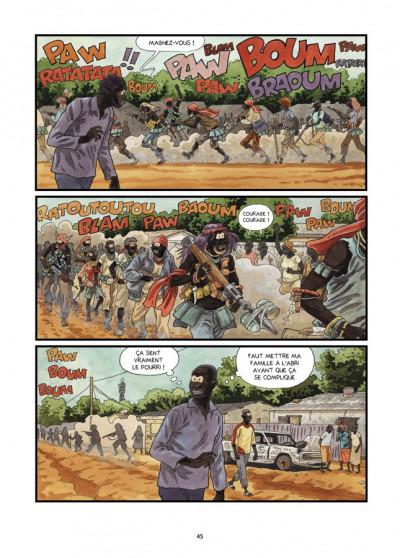 Page 2 Tempête sur Bangui tome 2