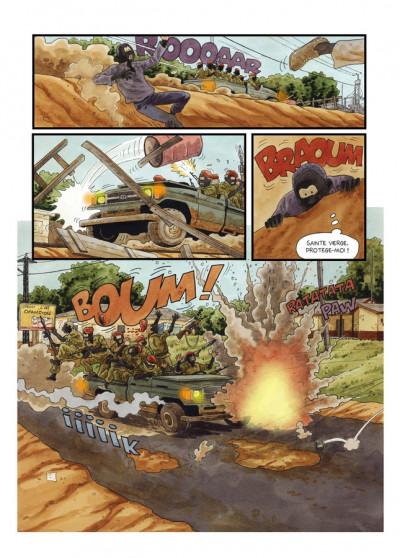 Page 4 Tempête sur Bangui tome 2