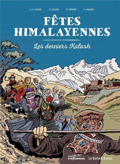 Couverture Les derniers Kalash de l'Himalaya