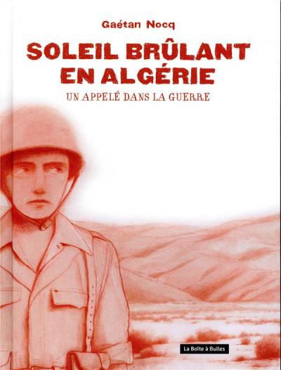 Couverture Soleil brûlant en Algérie