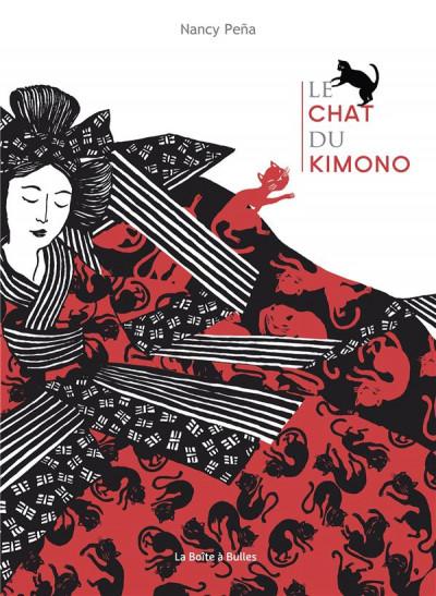 Couverture Le chat du kimono