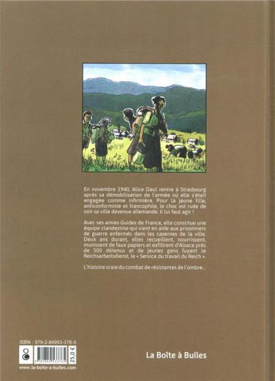 Dos Têtes de mules - Six jeunes Alsaciennes en résistance