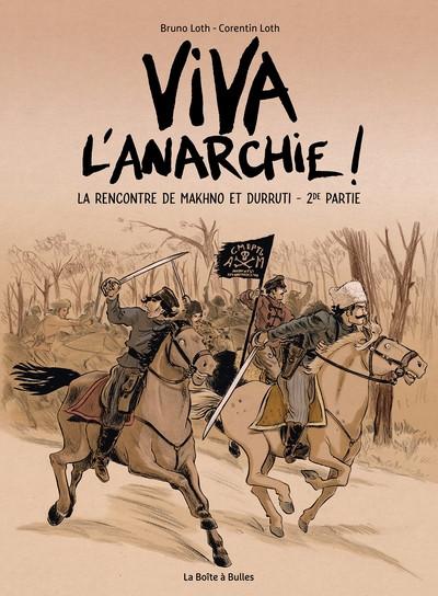 Couverture Viva l'anarchie ! tome 2