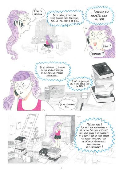 Page 7 Déracinée - Soledad et sa famille d'accueil