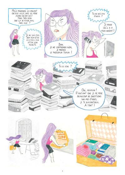 Page 8 Déracinée - Soledad et sa famille d'accueil