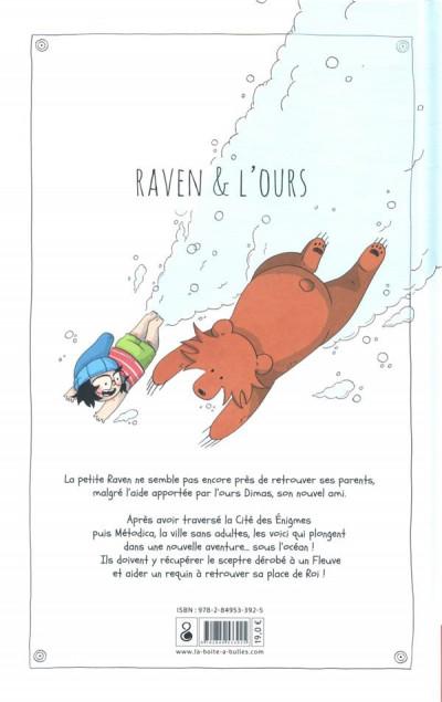 Dos Raven et l'ours tome 3