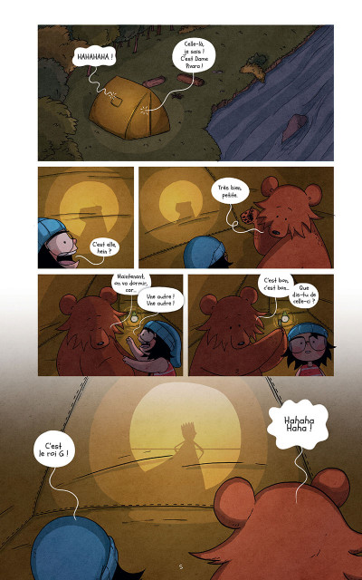 Page 5 Raven et l'ours tome 3