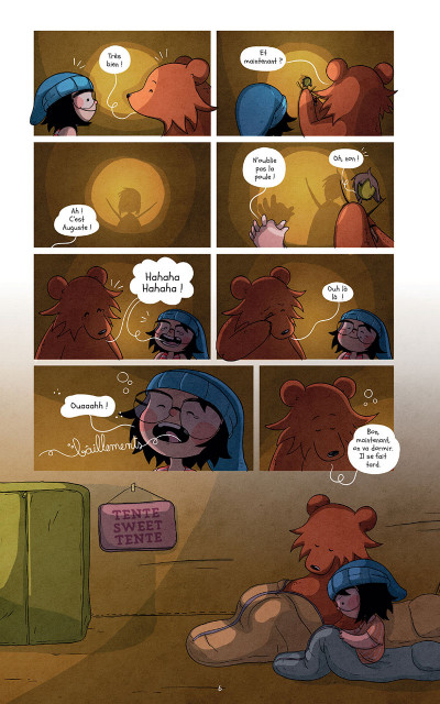 Page 6 Raven et l'ours tome 3