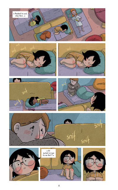 Page 8 Raven et l'ours tome 3