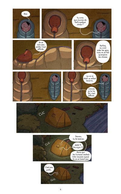 Page 9 Raven et l'ours tome 3