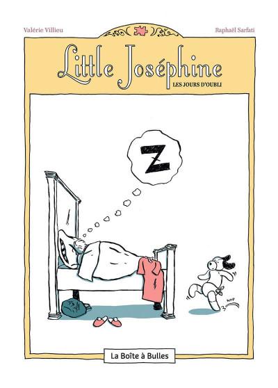 Page 5 Little Joséphine ou les jours d'oubli