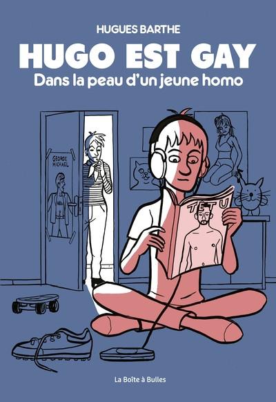 Couverture Hugo est gay - Dans la peau d'un jeune homo
