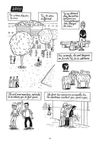 Page 4 Hugo est gay - Dans la peau d'un jeune homo