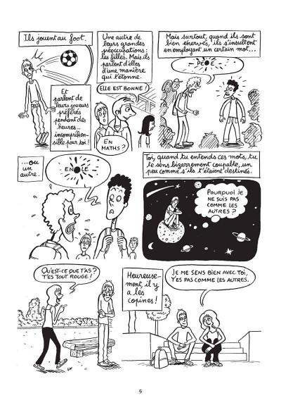 Page 5 Hugo est gay - Dans la peau d'un jeune homo