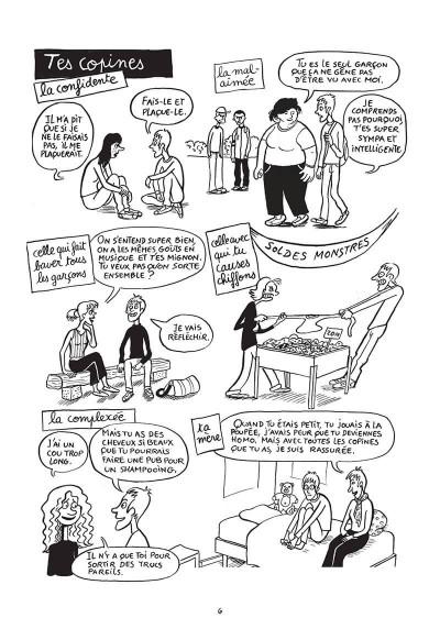 Page 6 Hugo est gay - Dans la peau d'un jeune homo