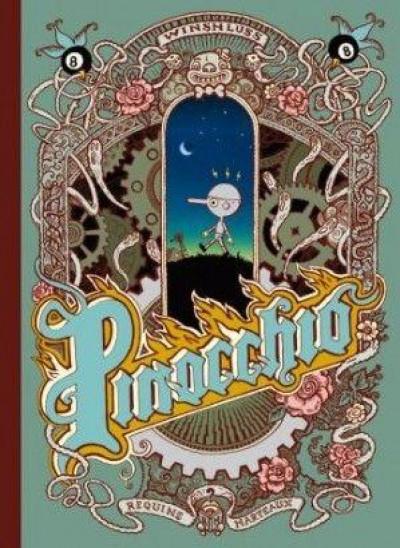 Couverture Pinocchio ; édition souple 2012