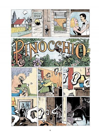 Page 0 Pinocchio ; édition souple 2012