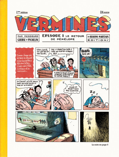 Couverture Vermines tome 1