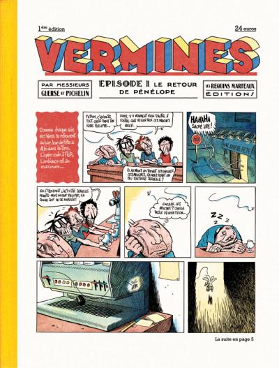 image de Vermines tome 1 - Le retour de Pénélope