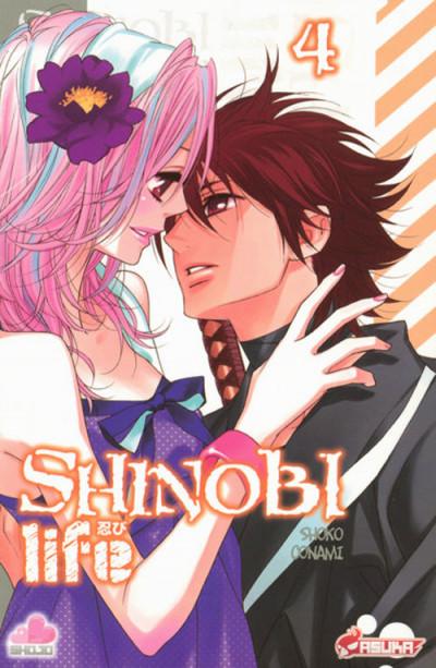 Couverture shinobi life tome 4