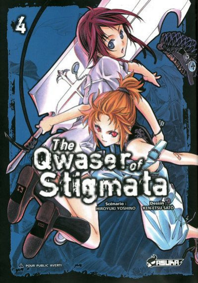 Couverture the qwaser of stigmata tome 4