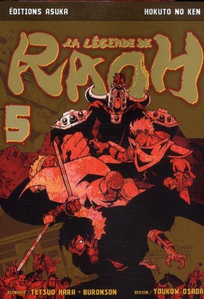 Couverture la légende de raoh tome 5