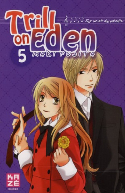 Couverture trill on eden tome 5