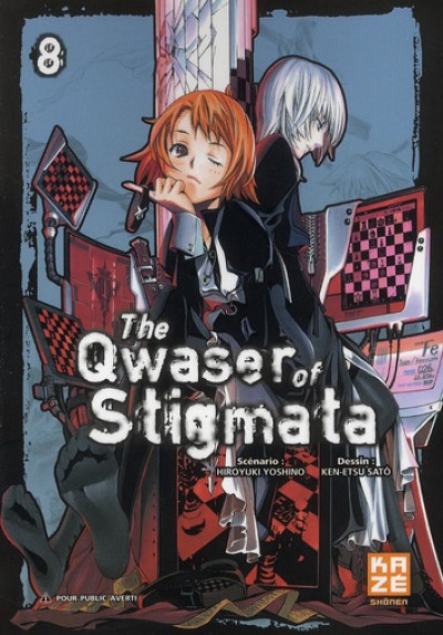 Couverture the qwaser of stigmata tome 8
