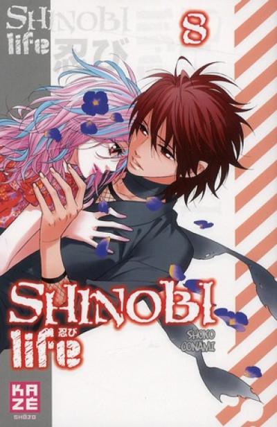 Couverture shinobi life tome 8