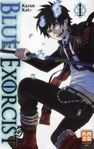 Couverture blue exorcist tome 1