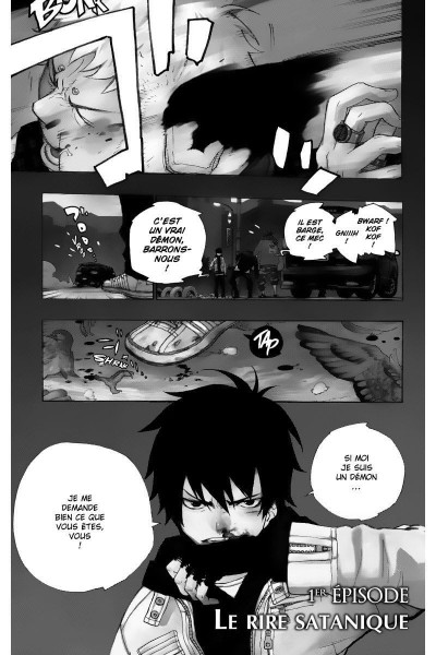 Page 4 blue exorcist tome 1