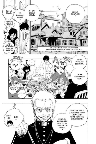 Page 8 blue exorcist tome 1