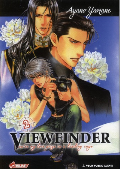 Couverture viewfinder tome 2